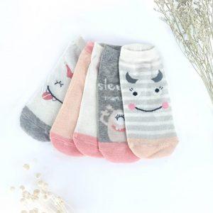 Cute monsters socks