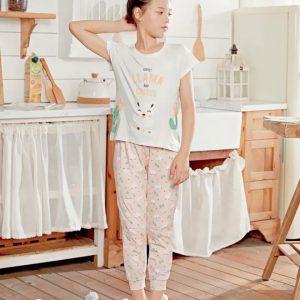 Llama Cactus pyjamas