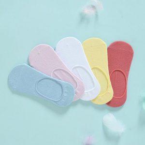 Summer color liner socks