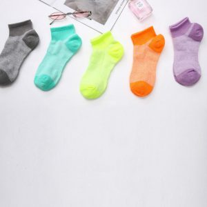 Set of 5 Socks, Bright Colour