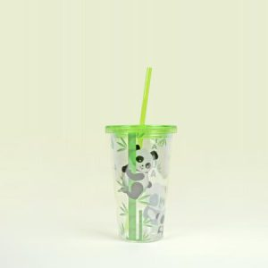 Tumbler Cup With Straw, Panda series