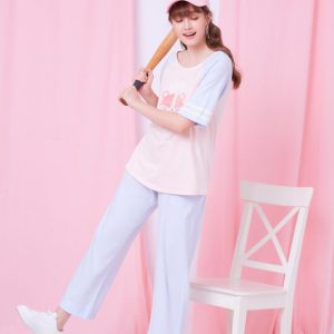 Cotton Furry, Top & Long Pants