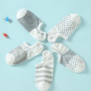 Set of 5 Socks, Pure Soft