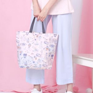 Lets go vacay tote bag small
